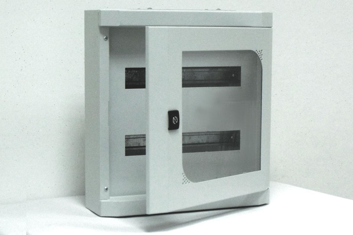 coffrets lectriques modulaires coffret lectrique modulaire porte vitr e 2 rang es de 16. Black Bedroom Furniture Sets. Home Design Ideas