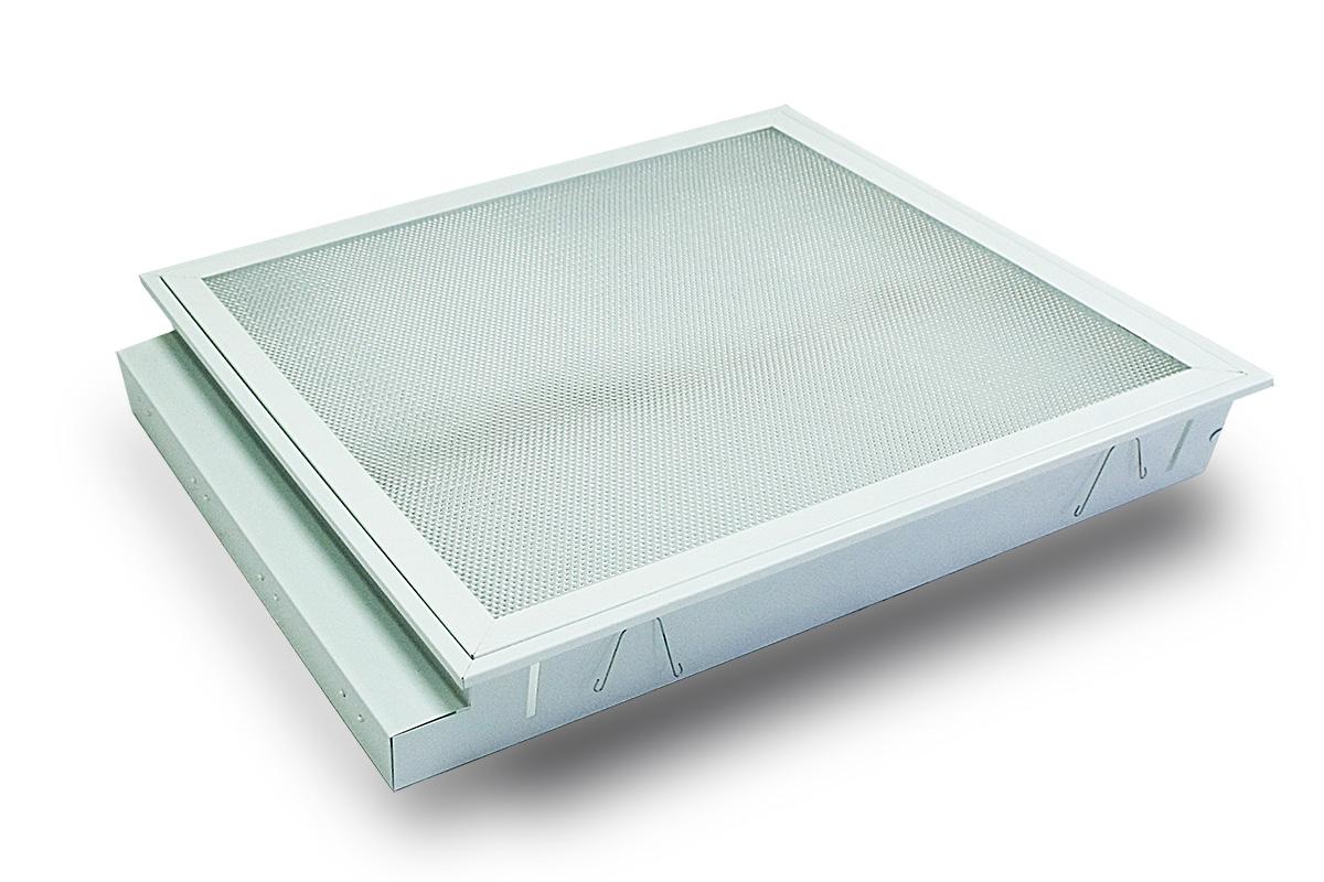 luminaires encastr s luminaire encastr 4 x 18w. Black Bedroom Furniture Sets. Home Design Ideas